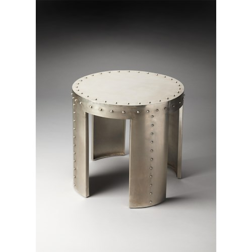 Butler Specialty Company Industrial Chic Mitchell Industrial Chic Accent Table