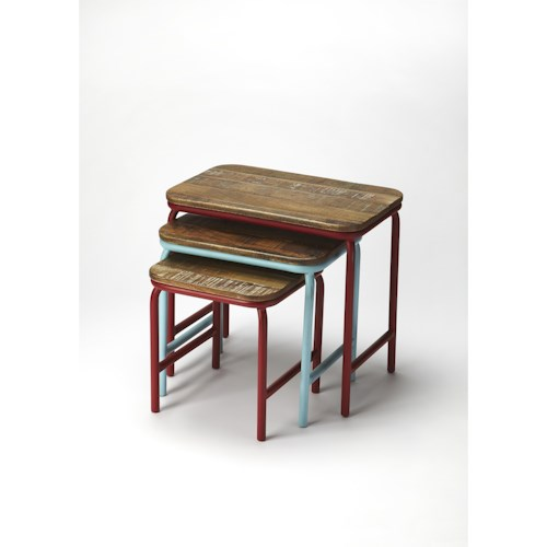 Butler Specialty Company Industrial Chic Industrial Chic Nesting Tables