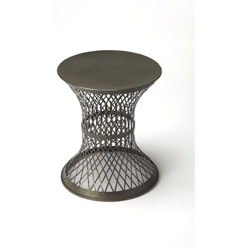 Butler Specialty Company Industrial Chic Allotrope Industrial Chic End Table