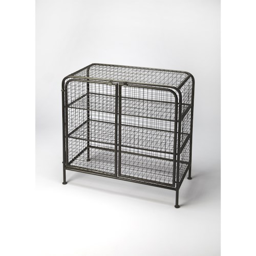 Butler Specialty Company Industrial Chic Diego Industrial Chic Cabinet