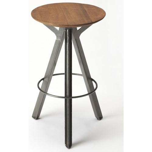 Butler Specialty Company Industrial Chic Allegheny Industrial Chic Bar Stool
