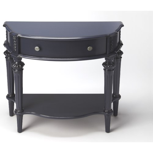 Butler Specialty Company Masterpiece Halifax Blue Console Table