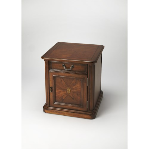 Butler Specialty Company Masterpiece  Thayer Olive Ash Burl Accent Table