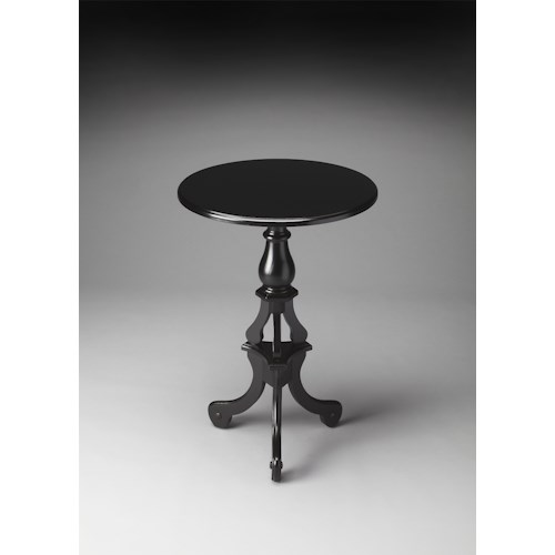 Butler Specialty Company Masterpiece  Allenby Black Licorice Pedestal Table