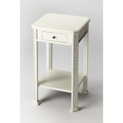 Butler Specialty Company Masterpiece  Moyer Cottage White Accent Table