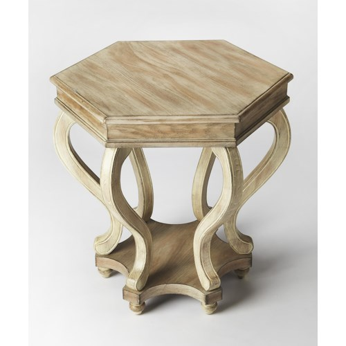 Butler Specialty Company Masterpiece  Margaret Driftwood Accent Table