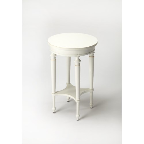 Butler Specialty Company Masterpiece Blackwell Cottage White Accent Table