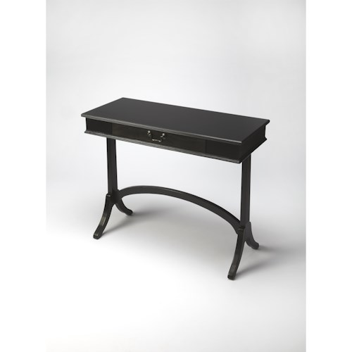 Butler Specialty Company Masterpiece  Alta Black Licorice Console Table