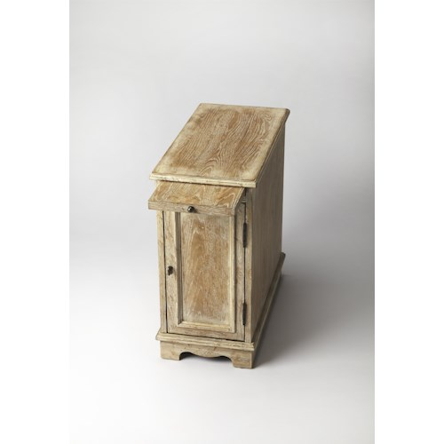 Butler Specialty Company Masterpiece  Winslow White Washed Chairside Chest