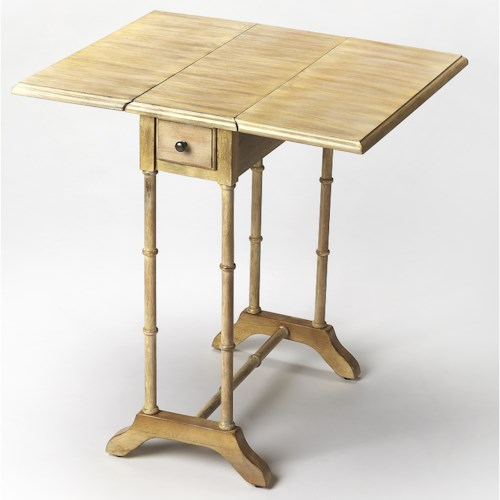 Butler Specialty Company Masterpiece Darrow Driftwood Drop Leaf Table