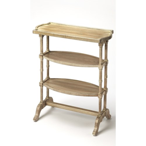 Butler Specialty Company Masterpiece  Anton Driftwood Side Table