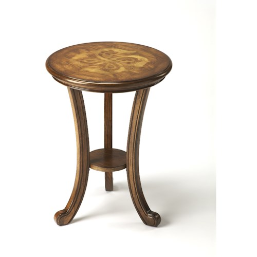 Butler Specialty Company Masterpiece  Yates Praline Accent Table