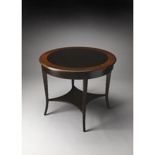Butler Specialty Company Masterpiece  Stewart Cherry Nouveau Foyer Table