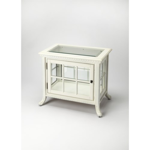Butler Specialty Company Masterpiece  Chopin Cottage White Side Chair Curio