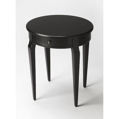 Butler Specialty Company Masterpiece  Archer Black Licorice Side Table