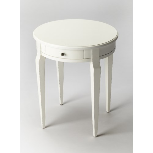 Butler Specialty Company Masterpiece  Archer Cottage White Side Table