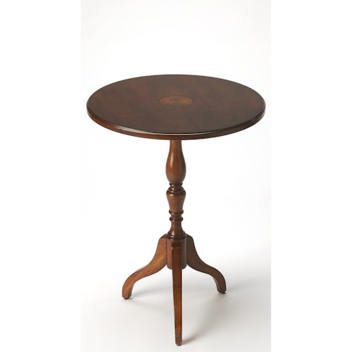 Butler Specialty Company Masterpiece  Archambault Antique Cherry Pedestal Table