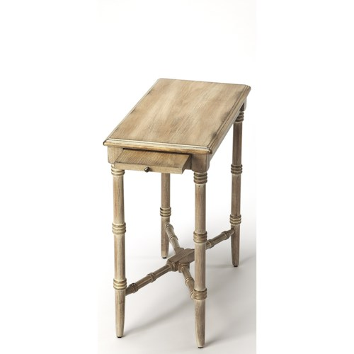 Butler Specialty Company Masterpiece  Skilling Driftwood Chairside Table