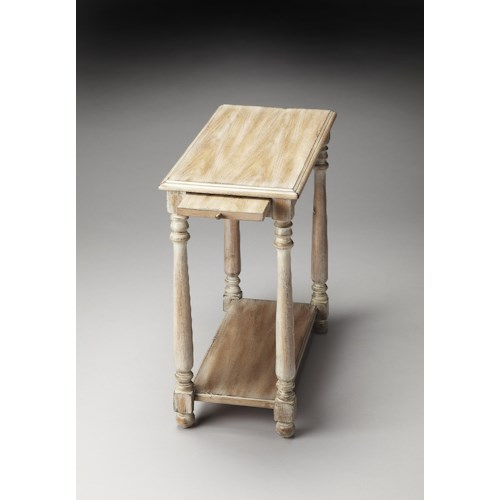 Butler Specialty Company Masterpiece  Devane Driftwood Chairside Table