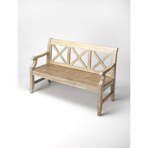 Butler Specialty Company Masterpiece  Gerrit Driftwood Bench