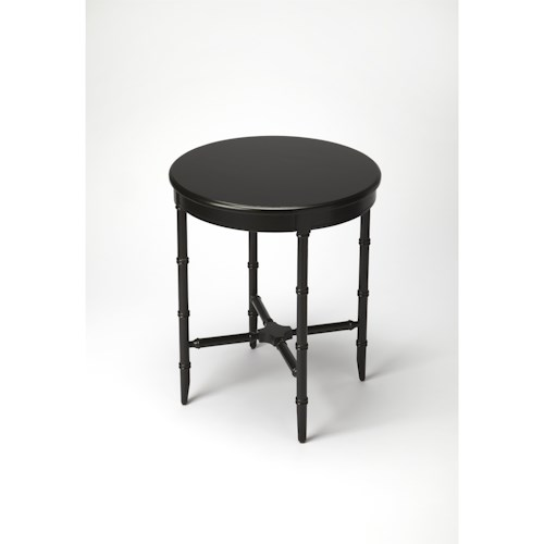 Butler Specialty Company Masterpiece  Somerset Black Licorice Side Table