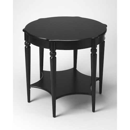 Butler Specialty Company Masterpiece  Bainbridge Black Licorice Accent Table