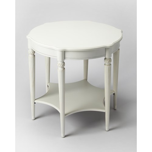 Butler Specialty Company Masterpiece  Bainbridge Cottage White Accent Table