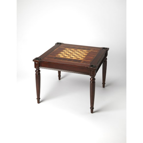Butler Specialty Company Masterpiece  Vincent Plantation Cherry Multi-game Card Table