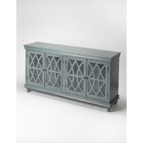 Butler Specialty Company Masterpiece  Lansing Twilight Blue Sideboard