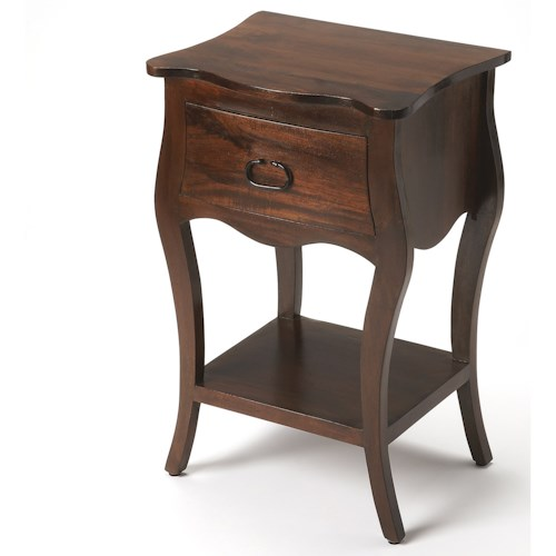Butler Specialty Company Masterpiece  Rochelle Antique Walnut Nightstand