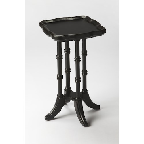 Butler Specialty Company Masterpiece  Briscoe Black Licorice Scatter Table