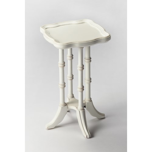 Butler Specialty Company Masterpiece  Briscoe Cottage White Scatter Table