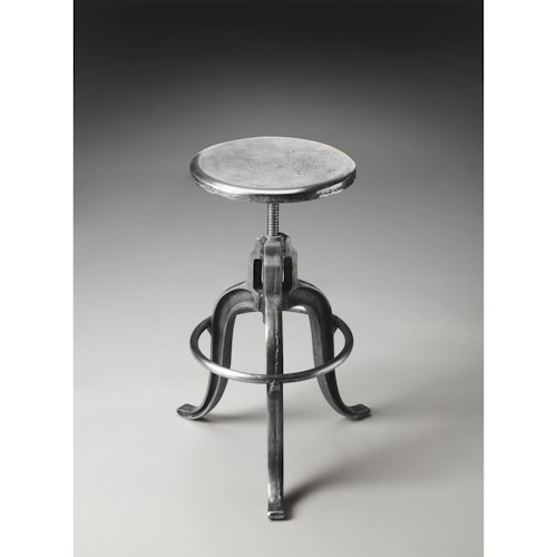 Butler Specialty Company Metalworks Iron Bar Stool