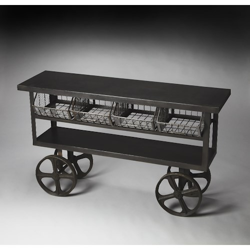Butler Specialty Company Metalworks Trolley Buffet