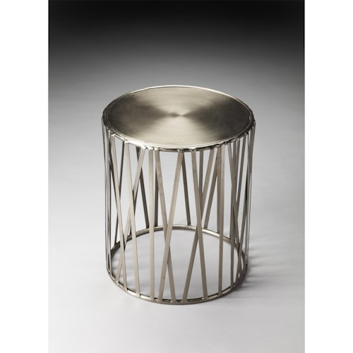 Butler Specialty Company Metalworks Drum Table
