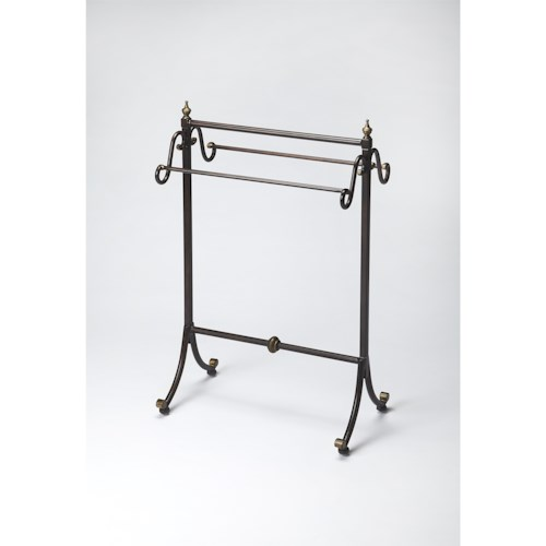 Butler Specialty Company Metalworks Metal Blanket Stand