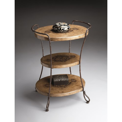 Butler Specialty Company Metalworks Tiered Accent Table