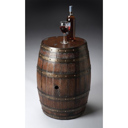 Butler Specialty Company Mountain Lodge Barrel Table
