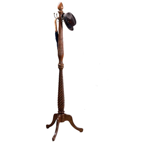 Butler Specialty Company Occasionals Pedestal Coat Rack