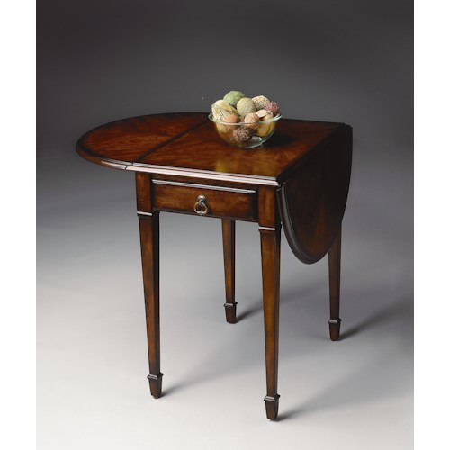 Butler Specialty Company Plantation Cherry Pembroke Table