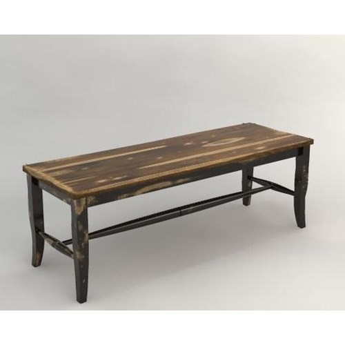 Canadel Champlain - Custom Dining Backless Dining Bench