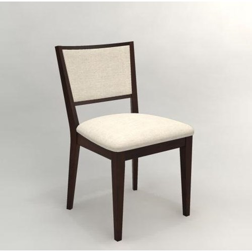 Canadel High Style - Custom Dining Side Chair With Upholstered Seat & Back