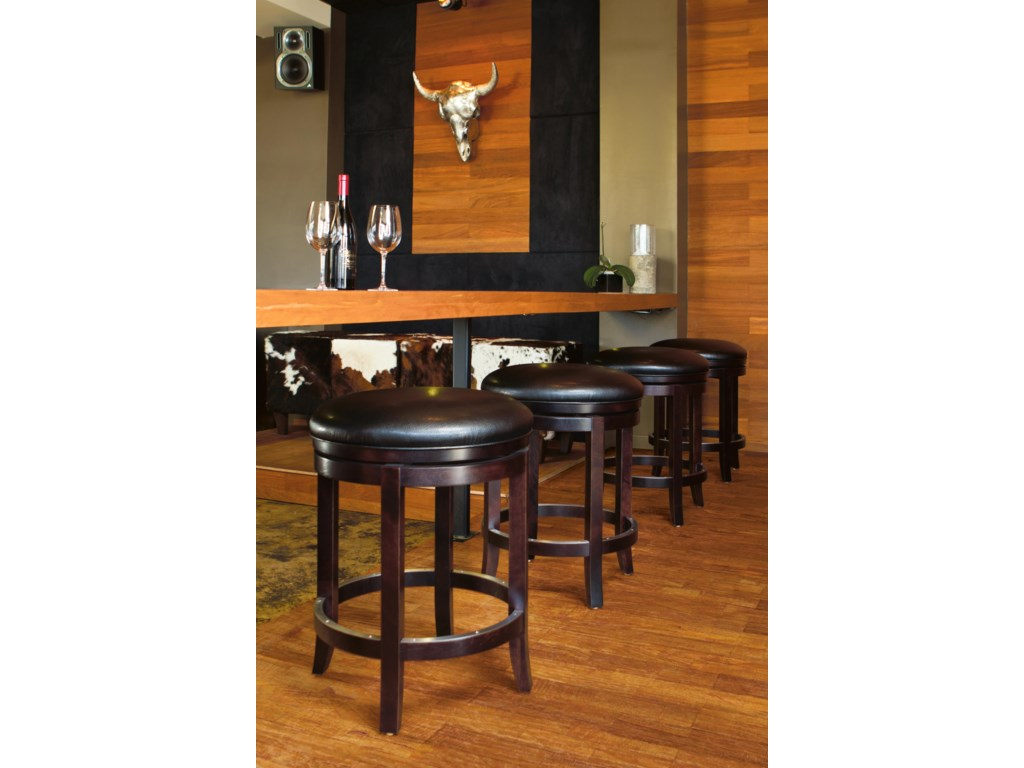 4 Bar Stools Shown