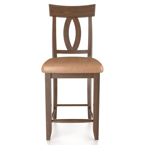 Canadel Bar Stools Customizable Fixed 24