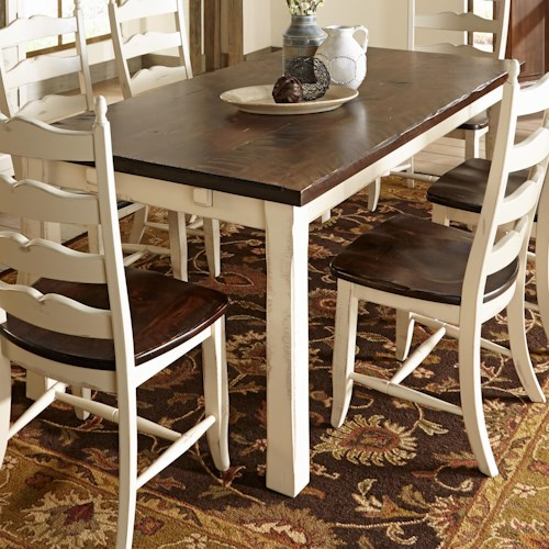 Canadel Champlain - Custom Dining Customizable Rectangular Table