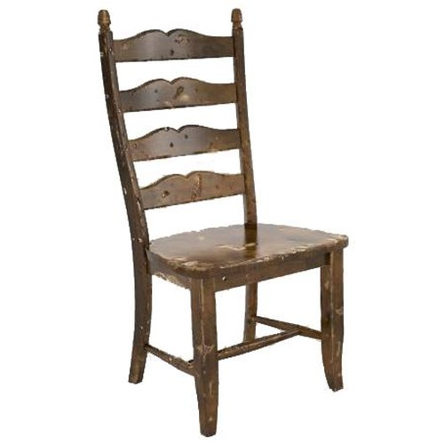 Canadel Champlain - Custom Dining Customizable Sculpted Ladderback Dining Side Chair