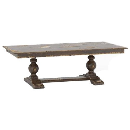 Canadel Champlain - Custom Dining Customizable Rectangular Table with Trestle Base