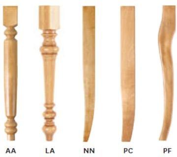 Chair Leg Options