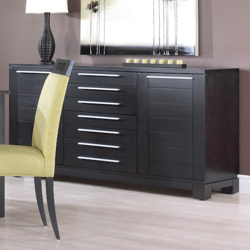 Canadel Custom Dining Modern Customizable Buffet