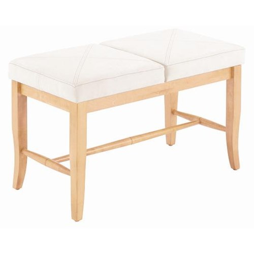 Canadel Custom Dining Customizable 2 Seat Upholstered Bench